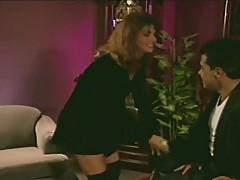 Ashlyn Gere is distracted by Bobby Vitale