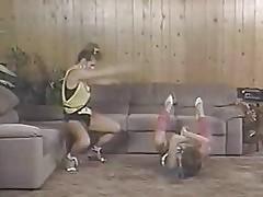 Aerobics girls club [s05a] sharon mitchell barbara dare bion