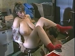 Christy Canyon gets a mouthful of cum