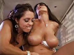 Lisa Ann & Francesca Le - Big boobs