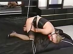 Jacqueline Lovell - bondage in the bedroom