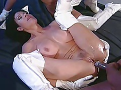 Anna Malle, Jeanna Fine and Sean Michaels