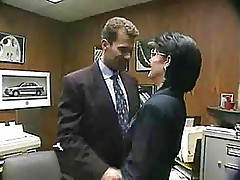 Jeanna Fine gets an anal day in the office...F70