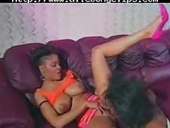 Jeannie Pepper amp Lady A black ebony cumshots ebony swallow interracial