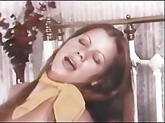 Vintage Porn Scene With Joey Silvera & Cute Brunette