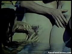Vintage John Holmes FFM Threesome