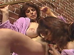 Kay Parker and Janey Robbins share a stud