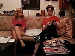 Paula Meadows and Nina Hartley