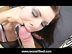 Rocco Siffredi Gets Some ATM and Bondage Action