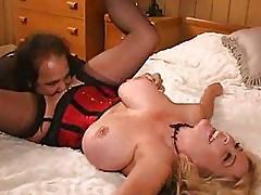Ron Jeremy loves busty MILF