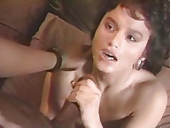 Classic Sean Michaels anal on brunette. Vintage.