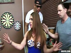 MILF Scarlett Wild gets pounded by Sean Michaels