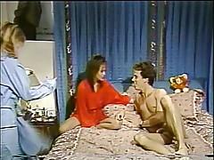 Tanya Foxx in lingerie, boyfriend and friend