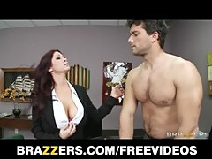HOT redhead MILF Tiffany Mynx punished for poor work performance
