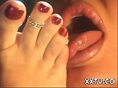 Tiffany Mynx and Houston foot fetish