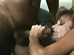 Tracey Adams is fucked by 2 lucky dicks!!!