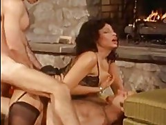 Hot whore Vanessa del Rio gets double dicked on her steamy hot holes