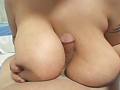 Big Tit Ebony Hooker Ajae and Friend Get Fucked