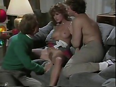Barbara Dare devoured by two dicks