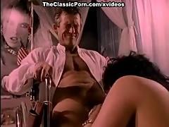 Jeanna Fine, Buck Adams in stunning beauty of Jeanna Fine in great 1970s porn