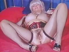 Big Tittied Grandma Candy Samples Masturbates