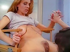 Christy Canyon & girlfriends anal dildo assplay and strapon
