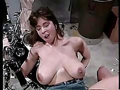Christy Canyon fucking on a motorbike
