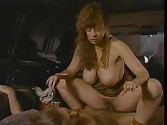 Christy Canyon gets fucked in a van