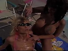 Debi Diamond and Nikki Sinn Bikini Lesbians