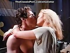 Dominique Saint Claire, George Payne in vintage sex movie