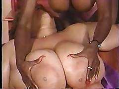 Cajun Queen (Black BBW) & Ebony Ayes (Black American)