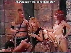 Barbara Dare, Nina Hartley, Erica Boyer in vintage porn clip