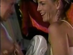 Erica Boyer and Alexa Parks 3some Retro Sex