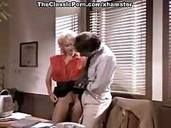 Gina Carrera, John Leslie in secretary spreads for the boss