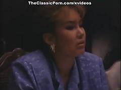 Krista Lane, Sheena Horne, Jamie Gillis in classic porn movie