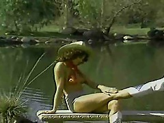 Krista Lane - Peter North - Sharon Mitchell - 80s Threesome
