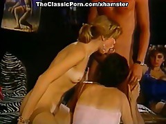 Little Oral Annie, Tom Byron, Gina Carrera in vintage porn