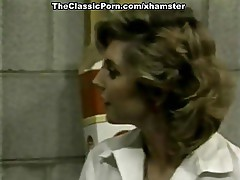 Misty Regan, Herschel Savage, Tom Byron in classic xxx video