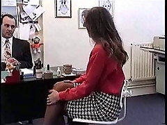 Nici Sterling hardcore porn scene in office