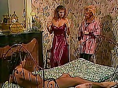 Alicia Monet, Nina Hartley & Roberto Bigo 1