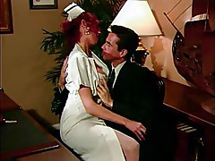 Nurse Patricia Kennedy & Peter North