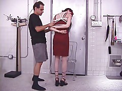 Rick Savage and Vicci Valencorte getting set for BDSM session