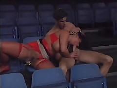 Mega Boob Tiziana Redford and Rocco Siffredi
