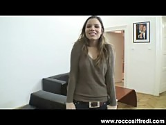 Rocco Siffredi Watches A Girl Dildo Fuck Herself