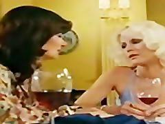 Lesbians Seka in retro movie