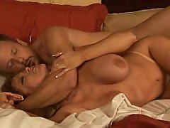 Hot mature couple : Tom Byron fucks busty MILF Darla Crane