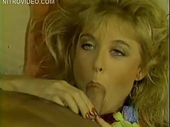 Nina Hartley and Tony Montana in coming in america