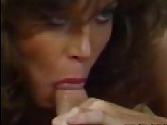 Tracey Adams Retro Pornstar Kitchen Blowjob