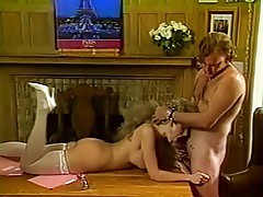 Victoria Paris fucks in study